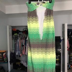 Missoni halter dress